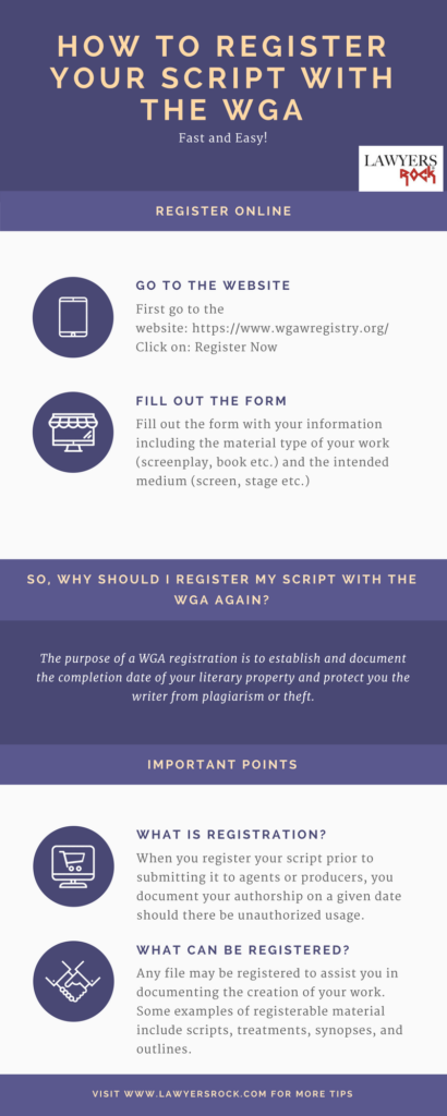 how to register script with wga
