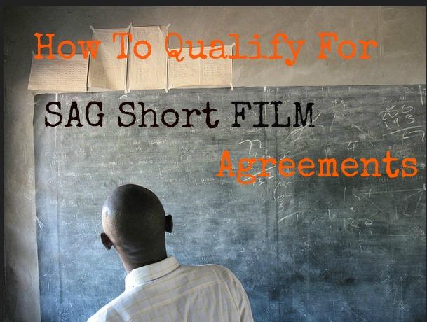 sag short film agreement
