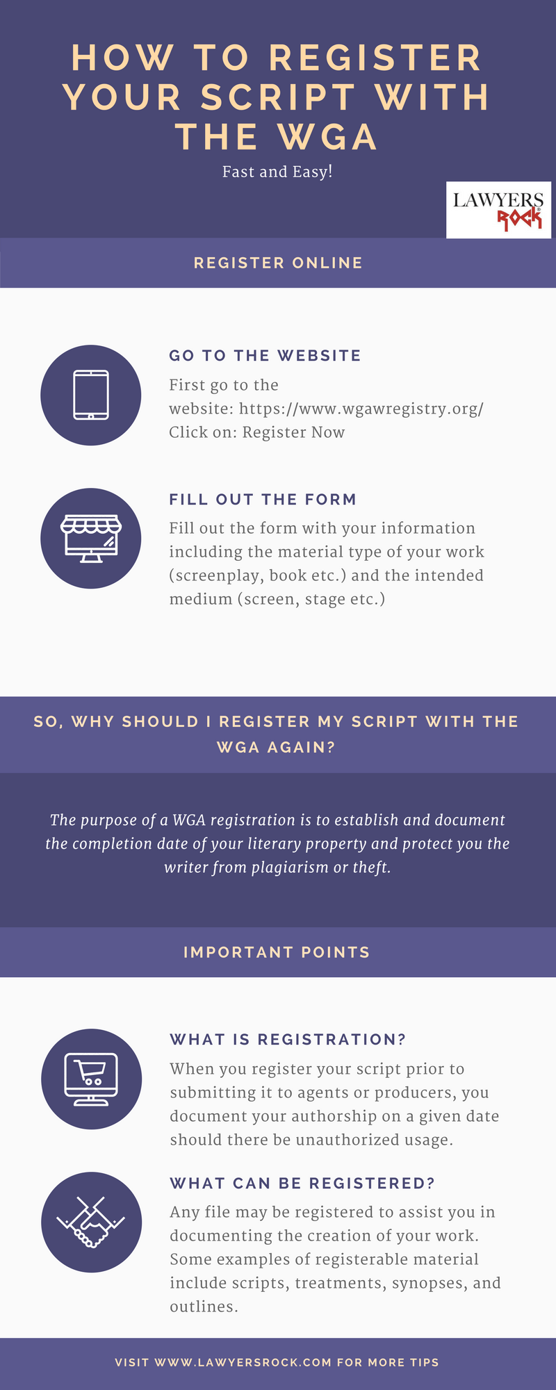 How To Register Your Script With The WGA |